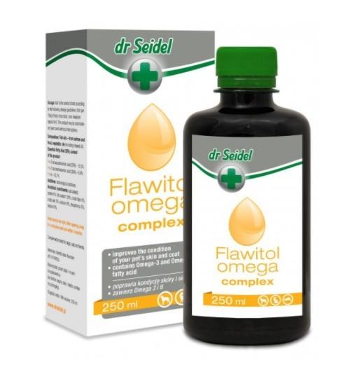 FLAWITOL OMEGA COMPLEX - zdrowa skóra, piękna sierść 250 ml
