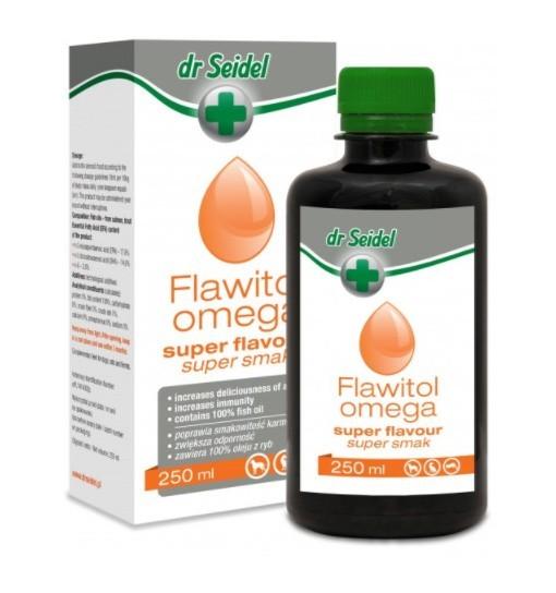 FLAWITOL OMEGA SUPER SMAK - poprawia smakowitość karmy 250 ml