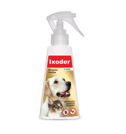 IXODER - spray odstraszający kleszcze i komary 100 ml