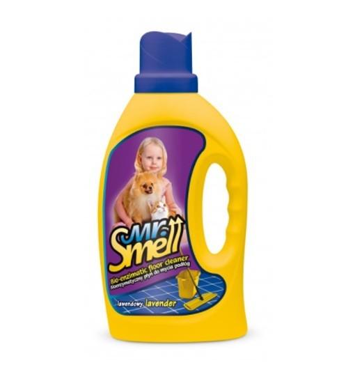 MR. SMELL BIOENZYMATYCZNY PŁYN DO MYCIA PODŁÓG - zapach lawendowy 1l