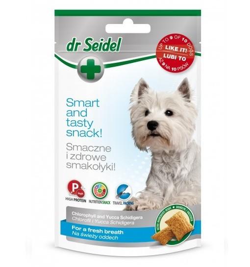 Smakołyki dr Seidla na świeży oddech dla psów 90g