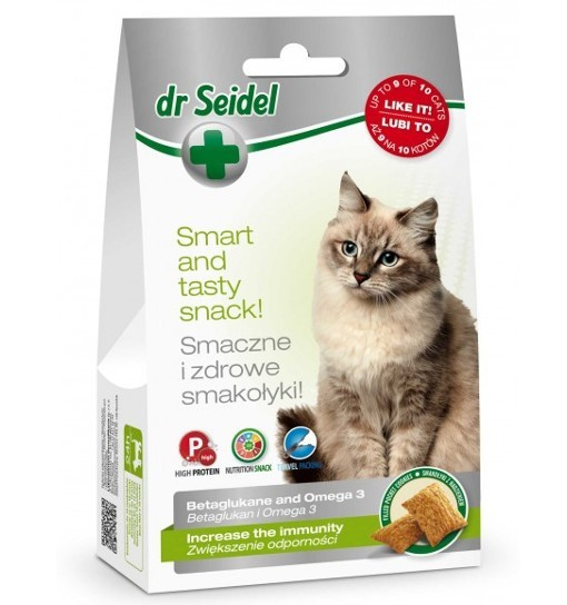 Smakołyki Dr Seidla na zwiększenie odporności dla kotów 50g
