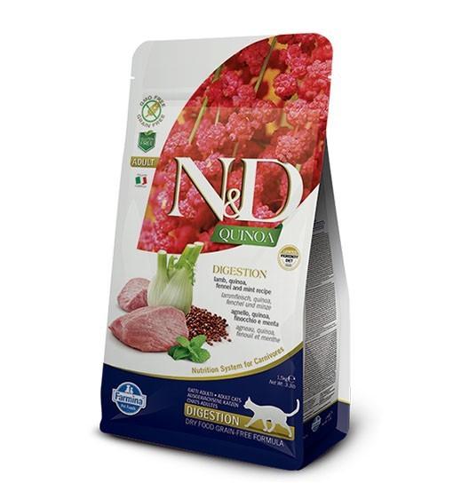 N&D Cat Quinoa Digestion Lamb & Fennel