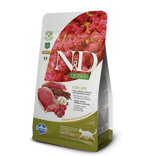 N&D Cat Quinoa Urinary Duck