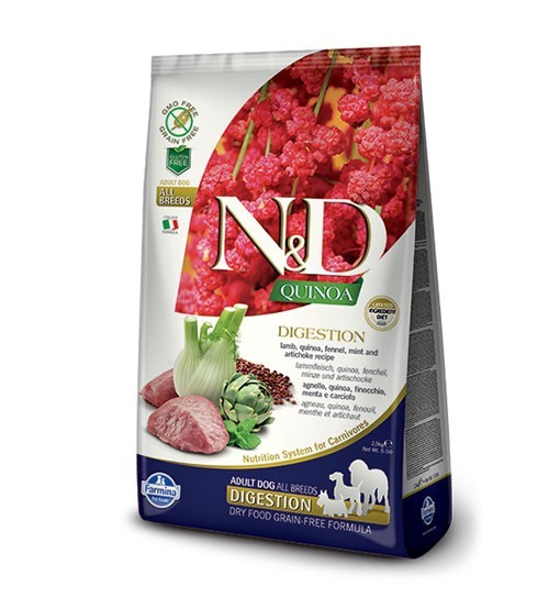 N&D Dog Quinoa Digestion Lamb & Fennel