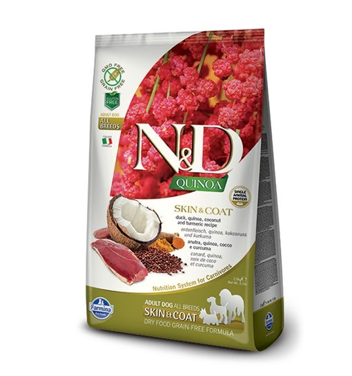 N&D Dog Quinoa Skin & Coat Duck