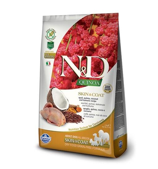 N&D Dog Quinoa Skin & Coat Quail
