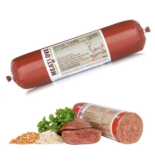Meatlove Single Care - Pure Lamb - jagnięcina z niełuskanym ziarnem prosa
