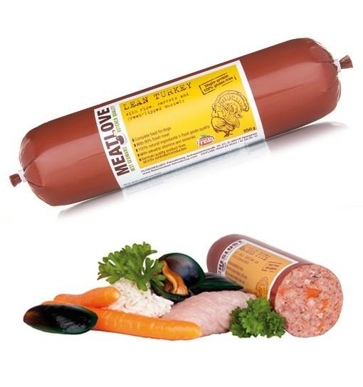 Learn Turkey - Indyk z ryżem, marchewką i zielonymi małżami Meatlove