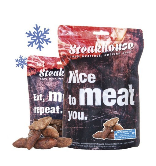 Poultry Hearts Serca drobiowe 40g - Meatlove
