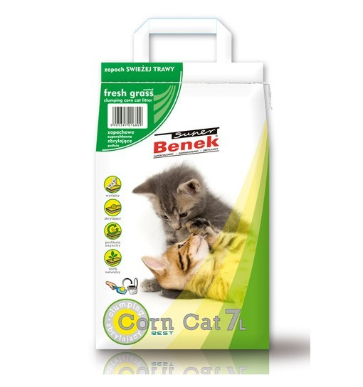 Benek CornCat Świeża trawa 7l