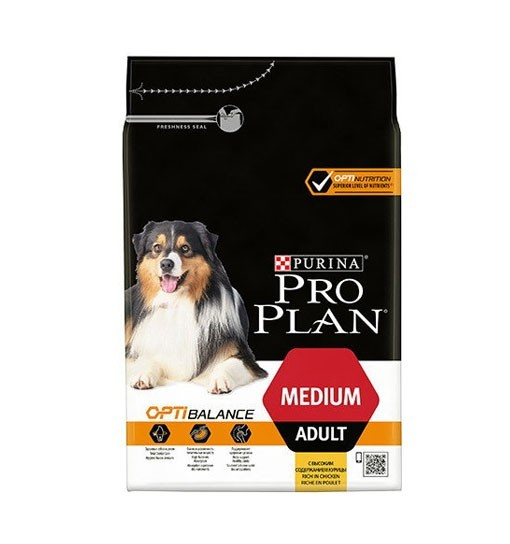 Pro Plan Optibalance Medium Adult Kurczak