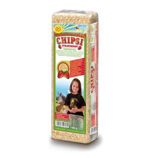 Trociny Chipsi - truskawka