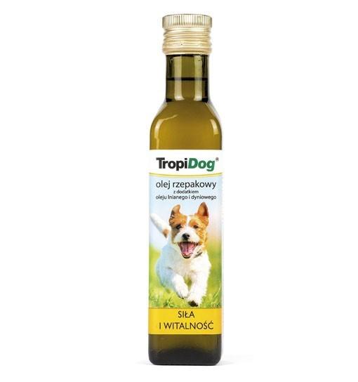 Tropidog Olej rzepakowy z dodatkiem oleju lnianego i dyniowego 250ml