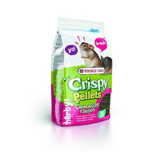 Crispy Pellets Chinchillas&Degus 1 kg - granulat dla szynszyli i koszatniczek