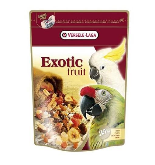 Exotic Fruit 600 g - mieszanka owocowa dla dużych papug