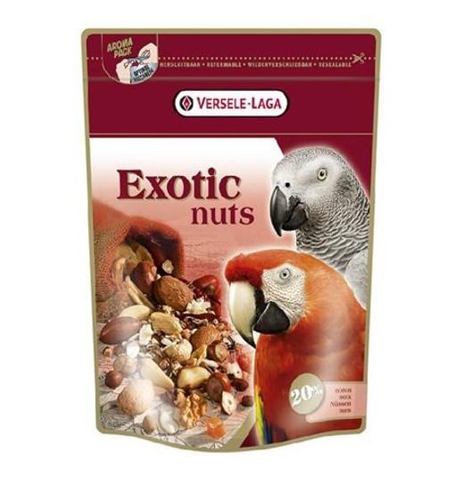 Exotic Nuts 750 g - mieszanka orzechowa dla dużych papug