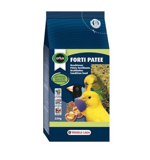 Orlux Forti Patee 250 g - pokarm miodowo-jajeczny na kondycję dla małych ptaków
