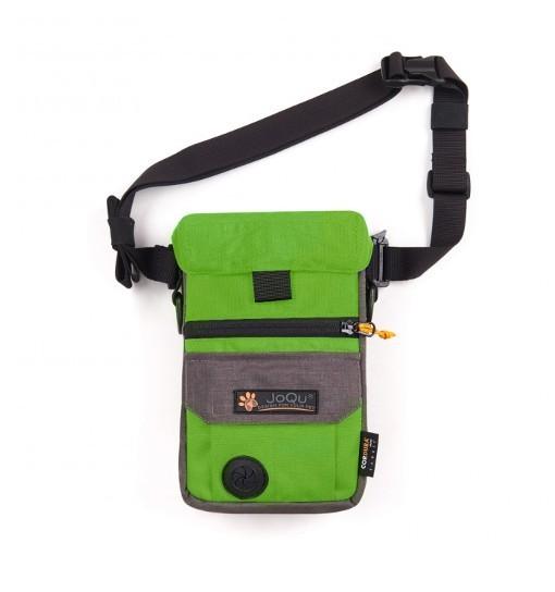 JoQu Dog Snack Bag - zielono-szara torebka na przysmaki