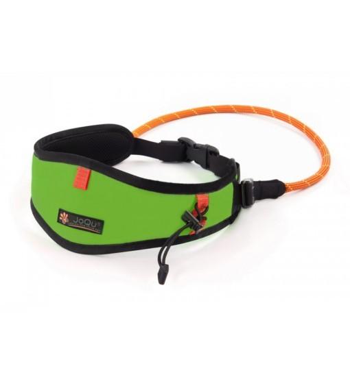 JoQu Light Canicross Belt Green - pas do biegania z psem
