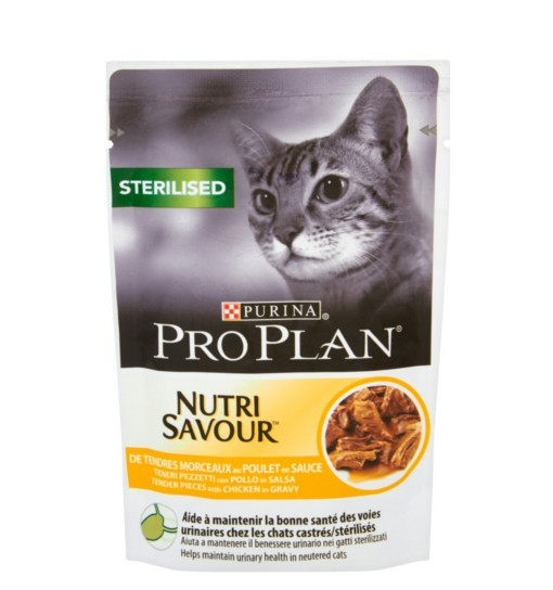 Purina Pro Plan Sterilised Kurczak 85g