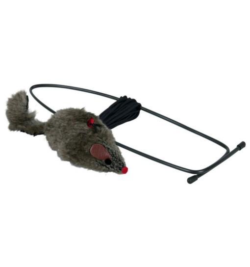 Zawieszana na futrynę mysz z pluszu