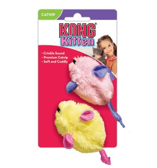 KONG Cat Toys pluszowe myszy 2szt.