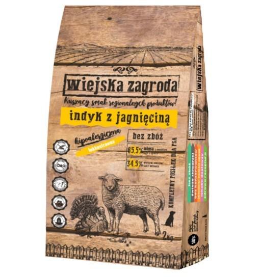 Wiejska Zagroda karma sucha - indyk z jagnięciną