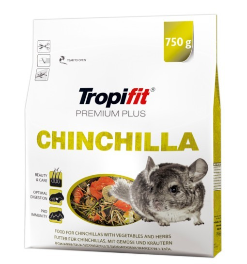 Tropifit Chinchilla Premium Plus 750g