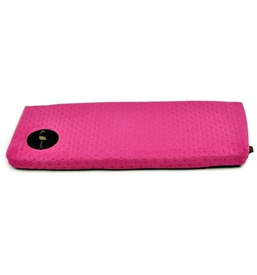 Parapeciak Cleo – różowy pikowany 50x20cm