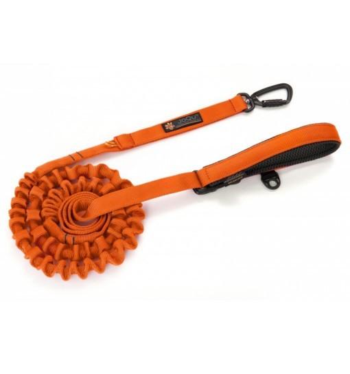 JoQu Ultra Strong Runners pomarańcz - smycz do biegania z bardzo mocnym amortyzatorem