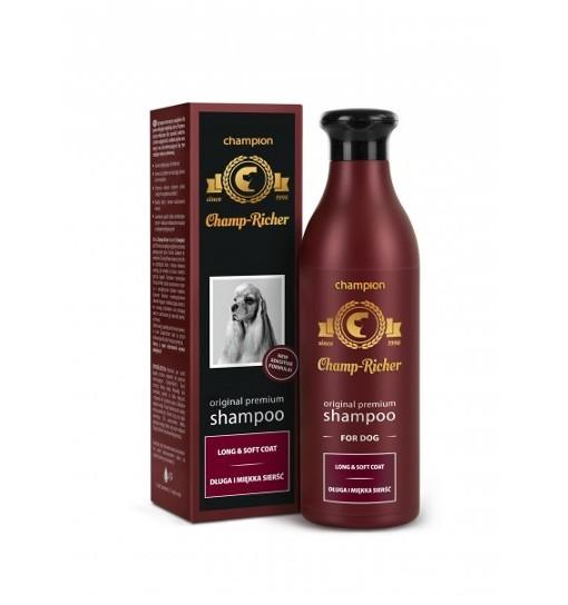 CHAMP-RICHER - szampon do długiej i miękkiej sierści 250 ml