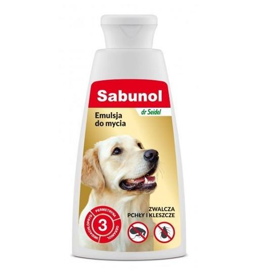 SABUNOL - emulsja do kąpieli przeciw pchłom 150 ml