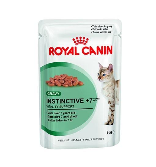 Royal Canin Instinctive 7+ kot (sos) 85g