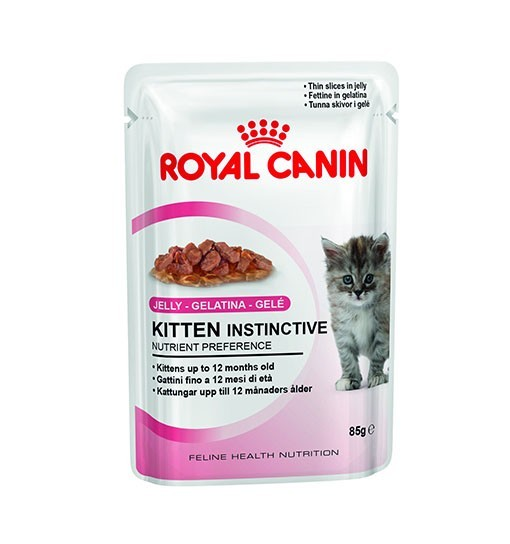Royal Canin Kitten Instinctive (galaretka) 85g