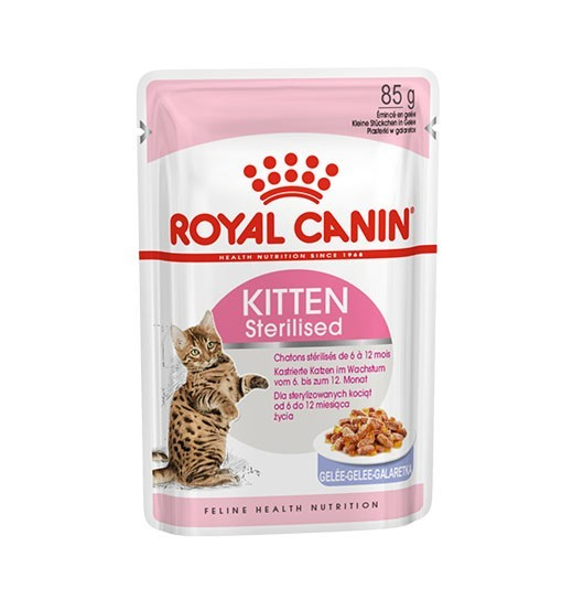 Royal Canin Kitten Sterilised (galaretka) 85g