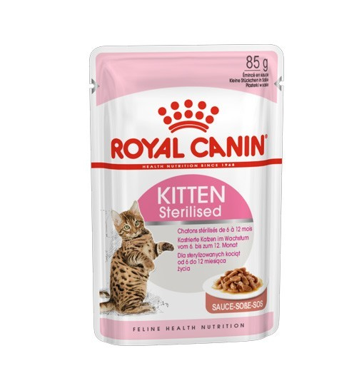 Royal Canin Kitten Sterilised (sos) 85g
