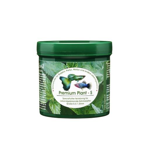 Premium Plant S - pokarm dla gupików, platek, molinezji, mieczyków i innych Poeciliidae