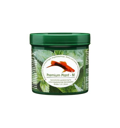 Premium Plant M - pokarm dla gupików, platek, molinezji, mieczyków i innych Poeciliidae