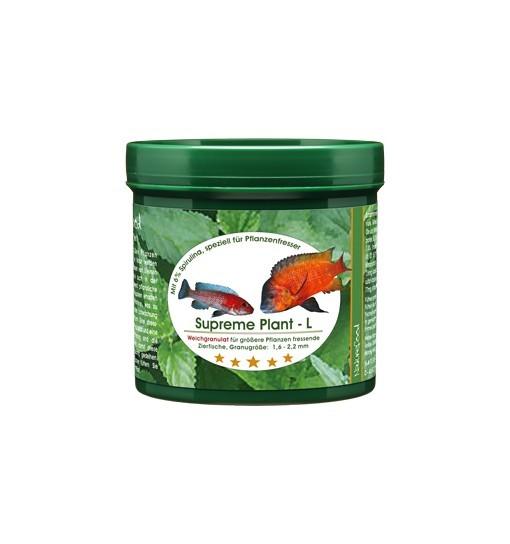 Supreme plant (soft granules) L - miękki pokarm dla roślinożerców i ryb zeskrobujących glony z podłoża