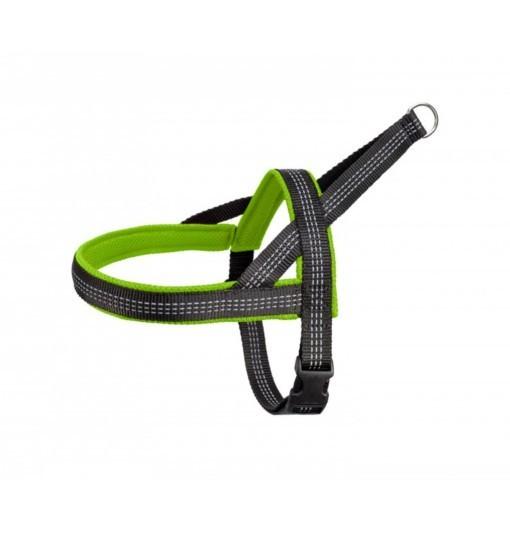 Classic Reflex – szelki z taśmą odblaskową (zielono-czarne)