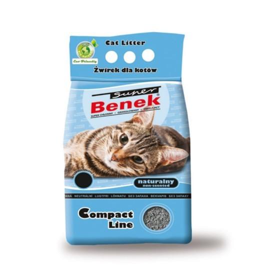 Benek Compact - naturalny /żwirek bentonitowy