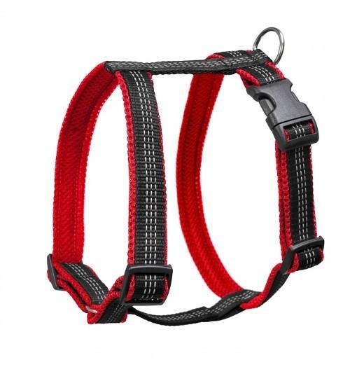 Guard Reflex – szelki antyucieczkowe (czarno-czerwone)