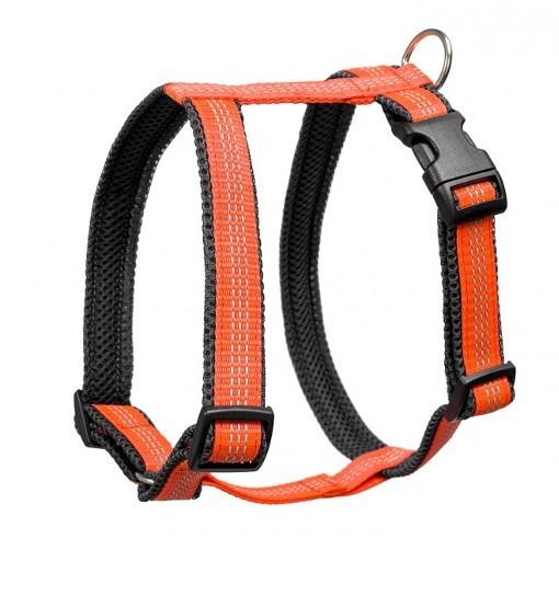 Guard Reflex – szelki antyucieczkowe (pomarańczowo-czarne)