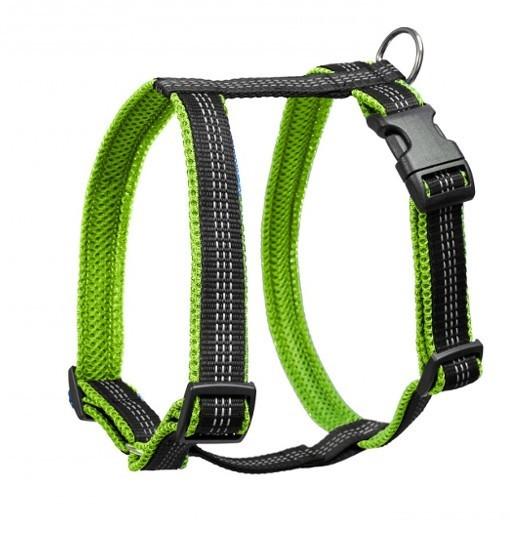 Your Pet Guard Reflex – szelki antyucieczkowe (czarno-zielone)