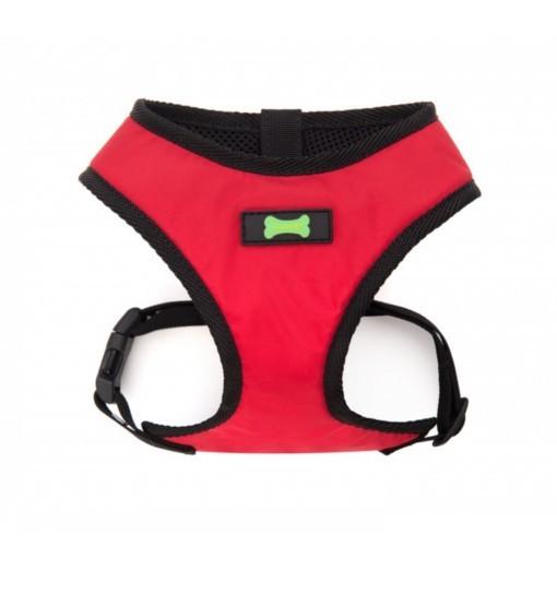 Waterproof Comfort – wodoodporne, bezuciskowe szelki (czerwone)
