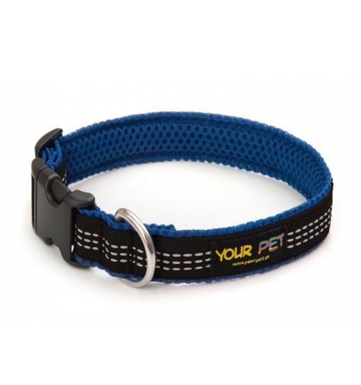 Reflex Comfort – obroża z taśmą odblaskową (niebiesko-czarna)