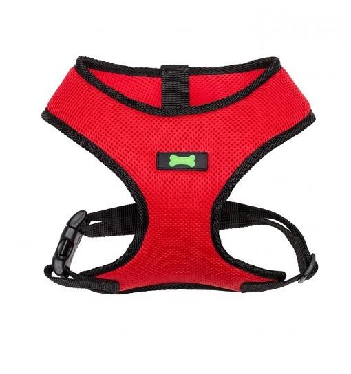 Textile Comfort – szelki bezuciskowe (czerwono-czarne)