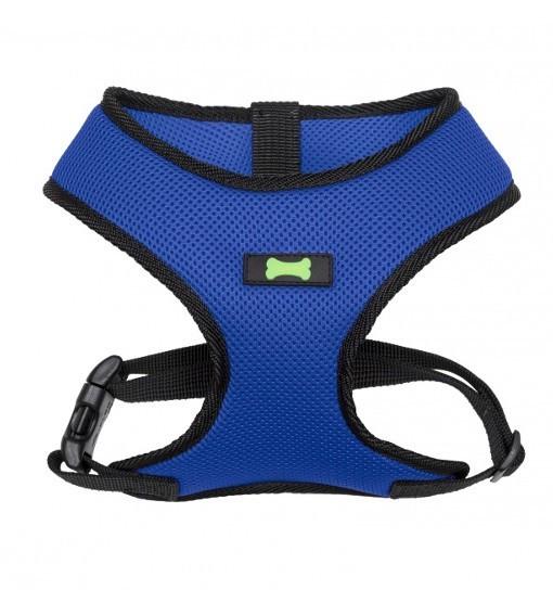 Your Pet Textile Comfort – szelki bezuciskowe (niebiesko-czarne)
