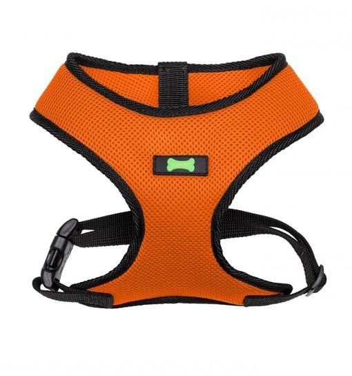 Textile Comfort – szelki bezuciskowe (pomarańczowo-czarne)